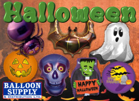 Halloween Balloons available now!